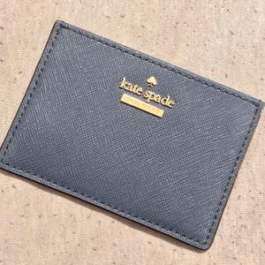 Navy Blue Kate Spade Card Holder